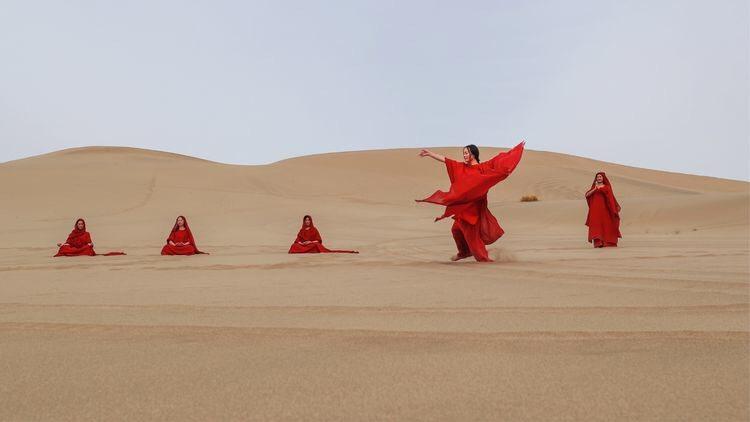 中道禅舞 | 大漠里舞动的灵魂
