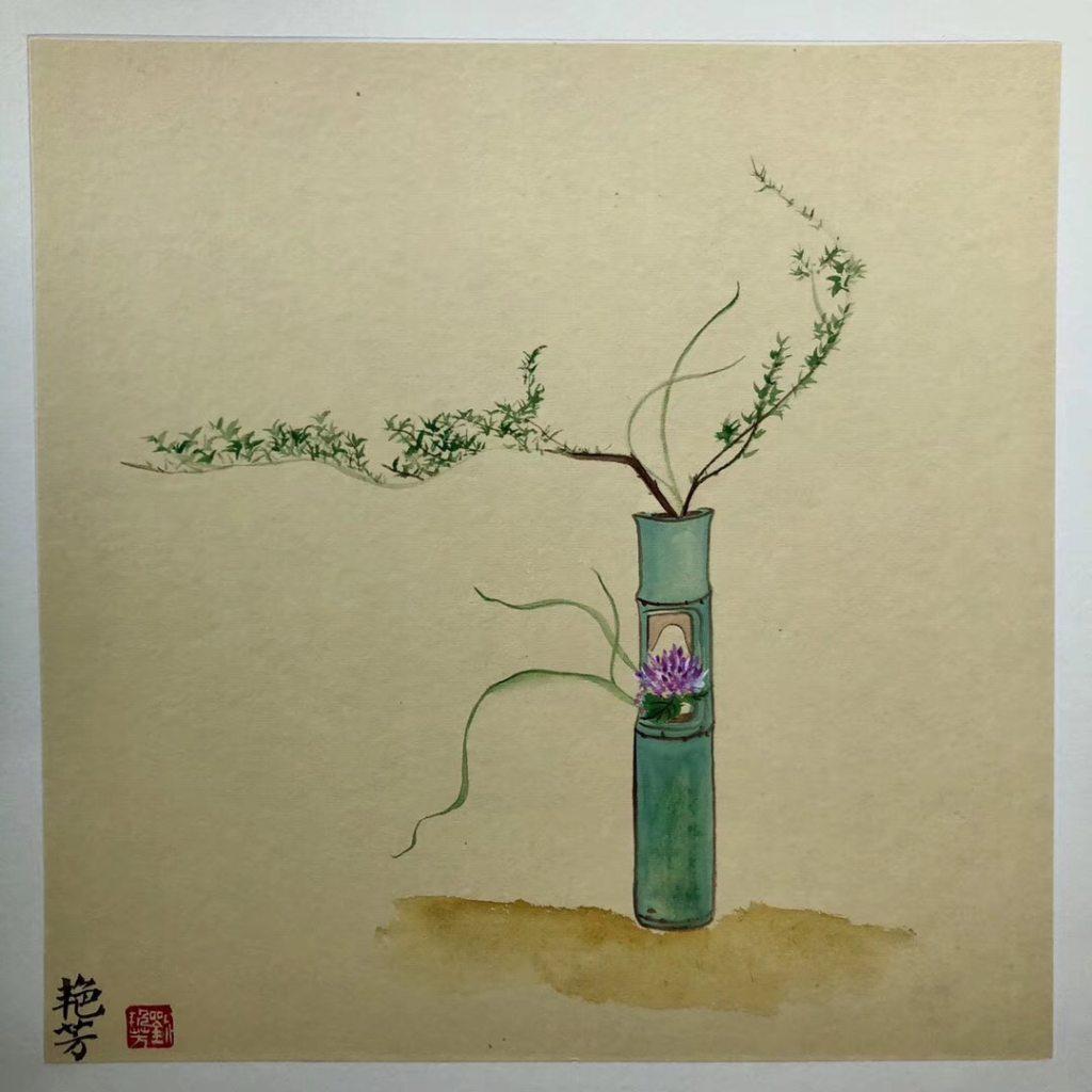 中国传统插花课程