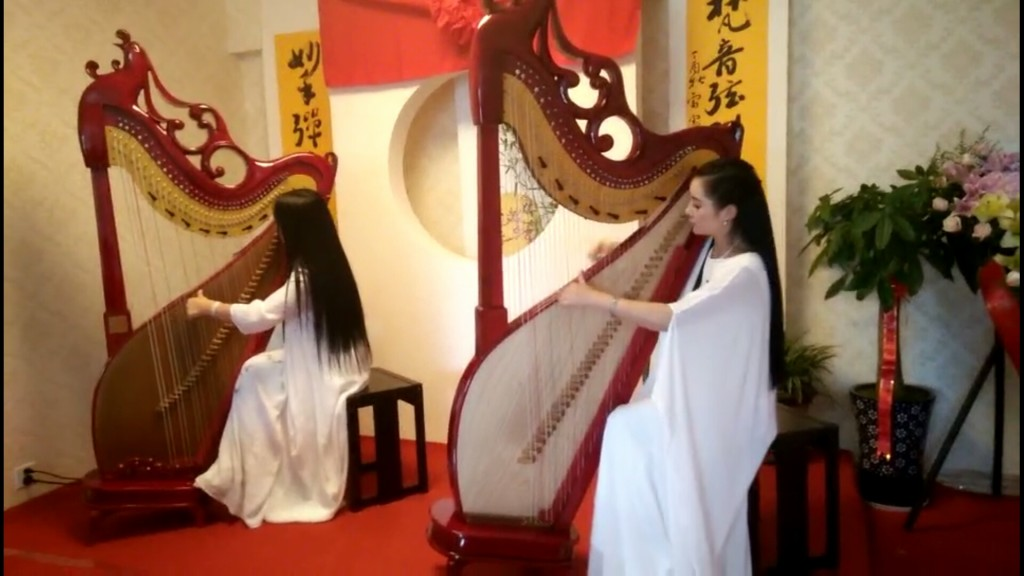 恭祝弦引丹卿箜篌文化传播院隆重开业!!